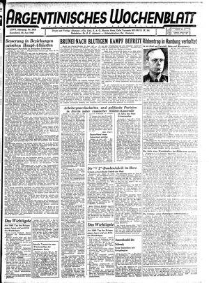 Argentinisches Wochenblatt vom 23.06.1945