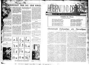 Hüben und drüben vom 10.10.1942