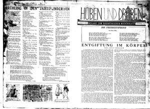Hüben und drüben vom 24.10.1942