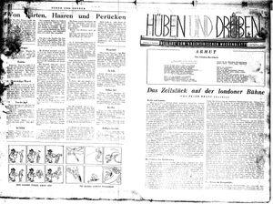 Hüben und drüben vom 07.11.1942
