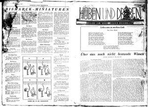Hüben und drüben vom 14.11.1942