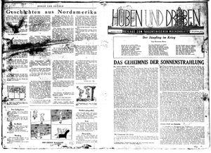 Hüben und drüben vom 05.12.1942
