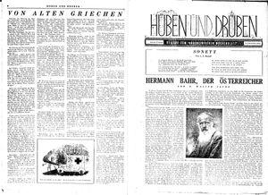 Hüben und drüben on Jan 15, 1944