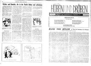Hüben und drüben vom 12.02.1944
