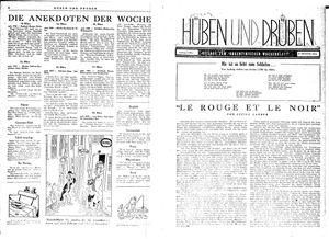 Hüben und drüben vom 11.03.1944
