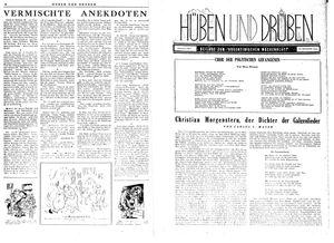 Hüben und drüben vom 01.04.1944