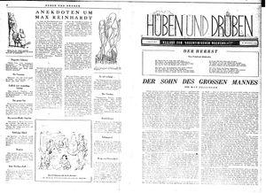 Hüben und drüben vom 22.04.1944