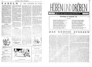 Hüben und drüben vom 06.05.1944