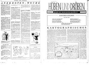 Hüben und drüben vom 13.05.1944