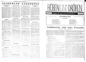 Hüben und drüben vom 10.06.1944