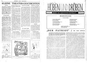 Hüben und drüben vom 17.06.1944