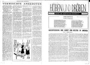 Hüben und drüben vom 12.08.1944