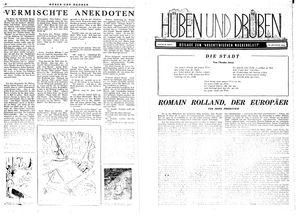 Hüben und drüben vom 26.08.1944