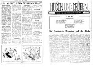 Hüben und drüben vom 02.09.1944