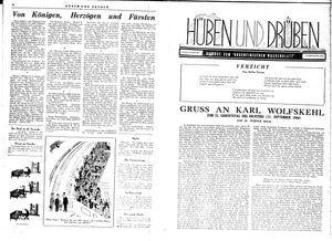 Hüben und drüben vom 16.09.1944