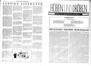 Hüben und drüben vom 23.09.1944