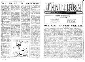 Hüben und drüben vom 28.10.1944