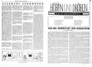 Hüben und drüben vom 04.11.1944