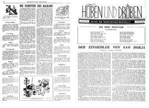Hüben und drüben vom 09.12.1944