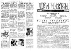 Hüben und drüben vom 16.12.1944