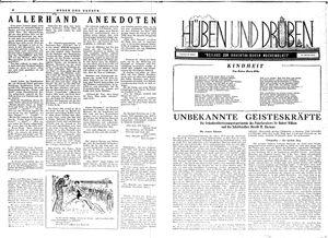Hüben und drüben vom 20.01.1945