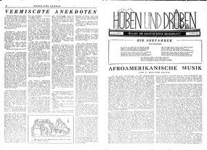 Hüben und drüben vom 27.01.1945