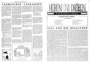 Hüben und drüben vom 03.02.1945