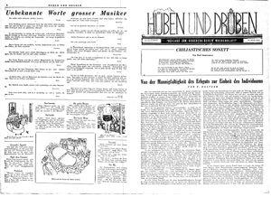 Hüben und drüben vom 24.02.1945