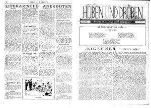 Hüben und drüben on Mar 24, 1945