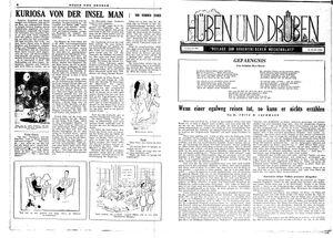 Hüben und drüben vom 31.03.1945