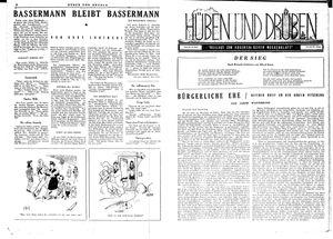 Hüben und drüben vom 14.04.1945
