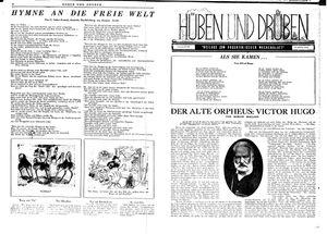 Hüben und drüben vom 19.05.1945