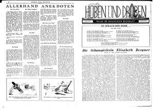 Hüben und drüben vom 26.05.1945