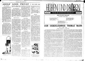 Hüben und drüben vom 02.06.1945