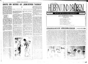 Hüben und drüben vom 09.06.1945