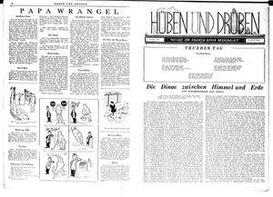 Hüben und drüben vom 07.07.1945