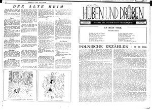Hüben und drüben vom 21.07.1945