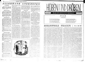 Hüben und drüben vom 04.08.1945