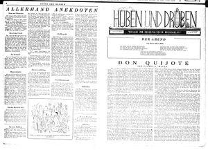 Hüben und drüben vom 11.08.1945