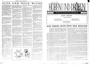 Hüben und drüben vom 18.08.1945