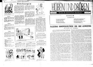 Hüben und drüben vom 25.08.1945
