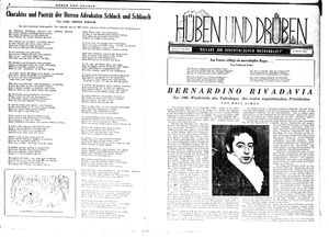 Hüben und drüben vom 01.09.1945