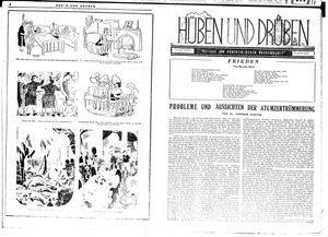 Hüben und drüben vom 08.09.1945