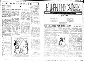 Hüben und drüben vom 22.09.1945