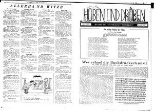 Hüben und drüben vom 20.10.1945