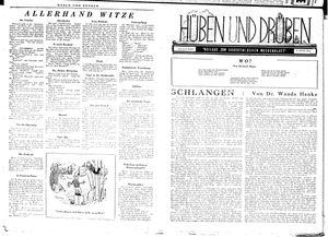 Hüben und drüben vom 27.10.1945