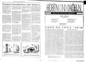 Hüben und drüben vom 03.11.1945