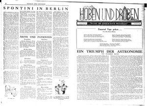 Hüben und drüben vom 01.12.1945