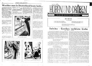 Hüben und drüben vom 15.12.1945
