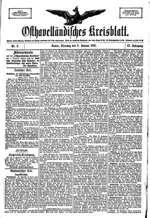 Osthavelländisches Kreisblatt vom 06.01.1891